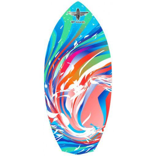 Баланссерф Diamond Rainbow Wave Red