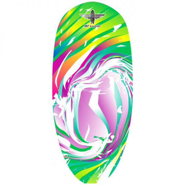 Баланссерф Hawaii Rainbow Wave Green