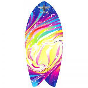 Баланссерф Legendary Rainbow Wave Blue