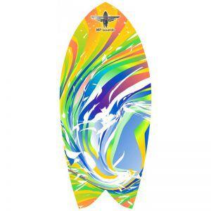 Баланссерф Legendary Rainbow Wave Yellow