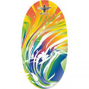 Балансборд Original Rainbow Wave Yellow