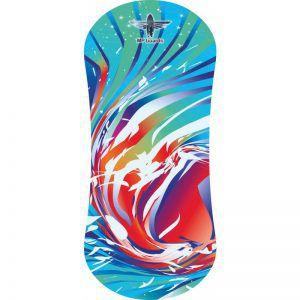 Балансборд Yogaboard Rainbow Wave Red