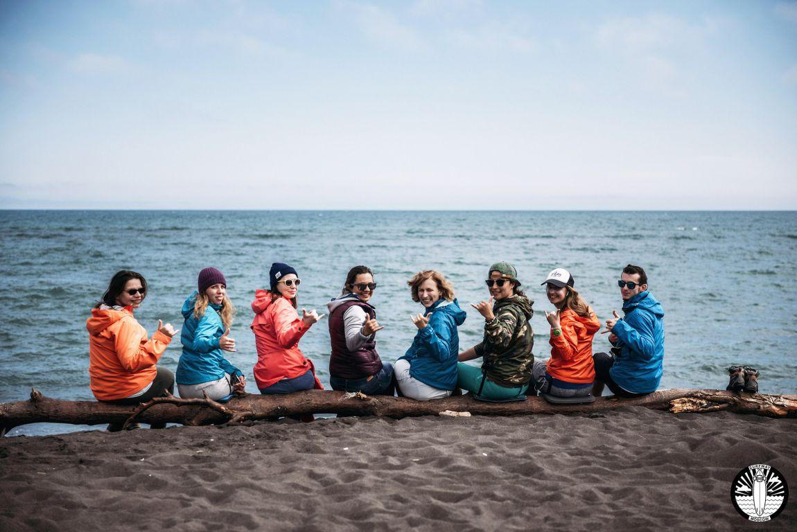 Серф-экспедиция на Камчатку 2017